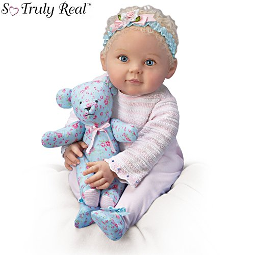 'Lauren And Teddy' So Truly Real® Baby Doll Set