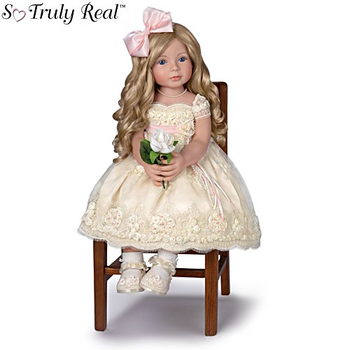 'Pearls, Lace, And Grace' So Truly Real® Child Girl Doll