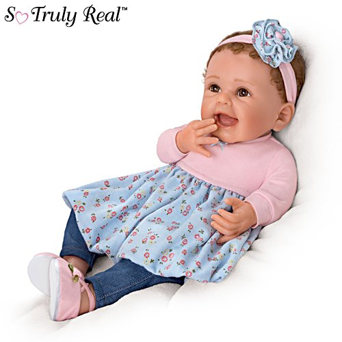 'Giggles And Grins' Touch-Activated Poseable Baby Doll