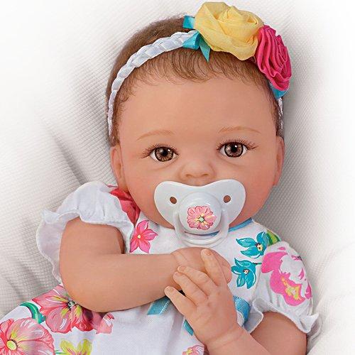 Putzige Pia – Premium Edition Silikon-Reborn-Babypuppe