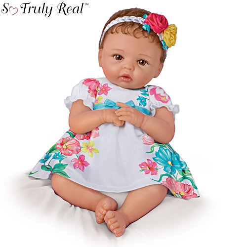 'Presley' Touch-Activated Baby Girl Doll