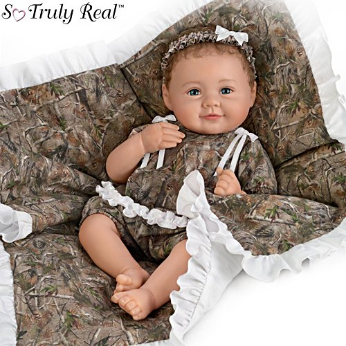 'Camo Cutie' So Truly Real® Poseable Baby Doll