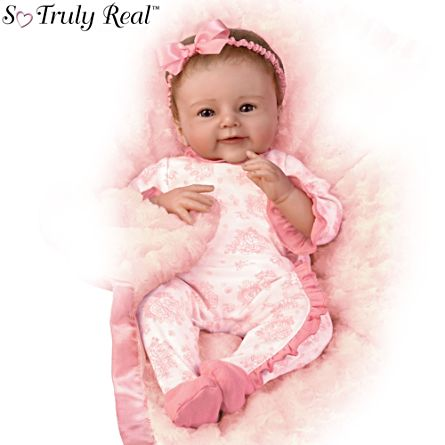 'Megan Rose' So Truly Real® Baby Girl Doll