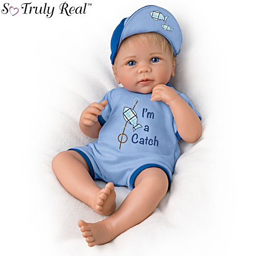 'I'm A Catch' So Truly Real® Baby Boy Doll