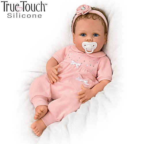 'Cooing Chloe' Breathing Silicone Baby Doll