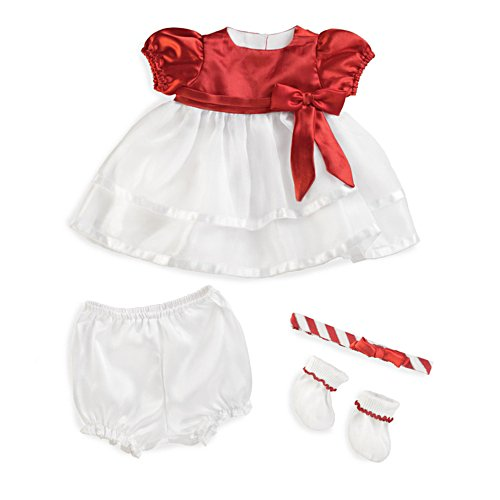 'Candy Cane Christmas' Baby Doll Accessory Set