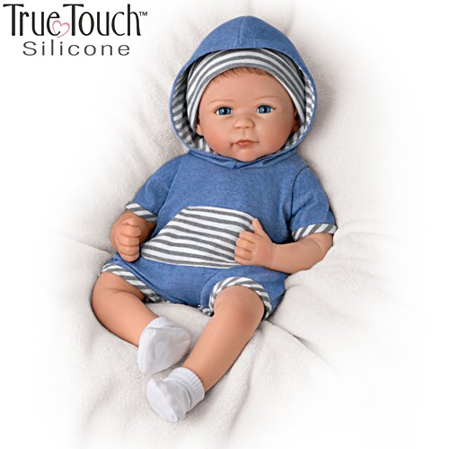 Linda Murray 'Caleb' So Truly Real® Silicone Baby Boy Doll
