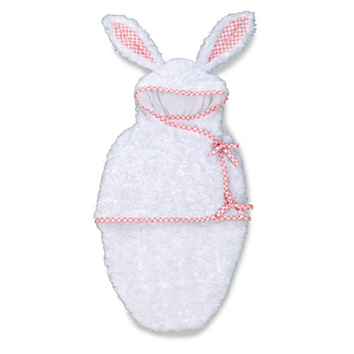 White Bunny Bunting' Baby Doll Accessory