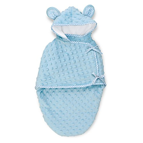Blue Bear Bunting' Baby Doll Accessory