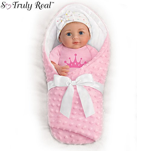 My Little Princess Woke Up This Cute' So Truly Real® Baby Girl Doll