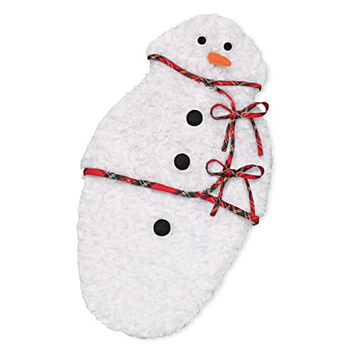 'Snowman Bunting' Baby Doll Accessory