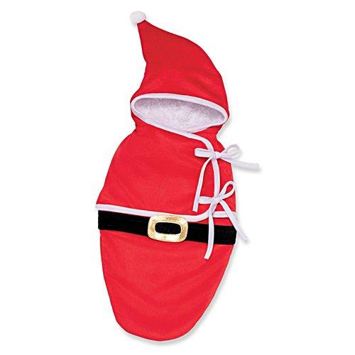 'Santa Bunting' Baby Doll Accessory
