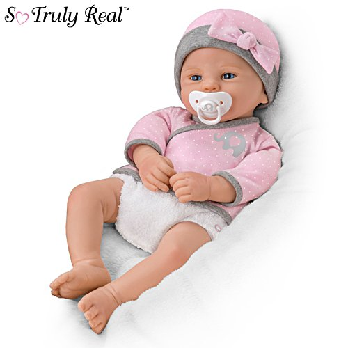 'Brand New Bailey' So Truly Real® Silicone Baby Girl Doll