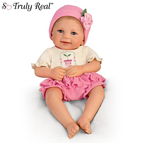 'Lil' Sprout' So Truly Real® Baby Girl Doll