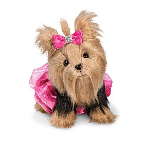 'Party Princess' Plush Yorkie