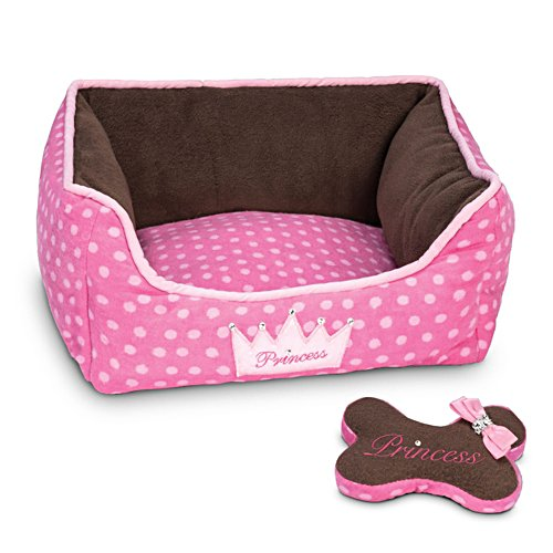 'Sweet Dreams' Plush Pal Dog Bed & Bone