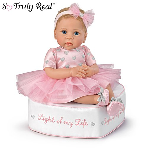 'Light Of My Life' So Truly Real® Baby Doll and Ottoman Set