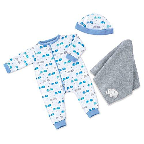 Elephant Sleeper And Snuggle Blanket Baby Doll Accessory Set