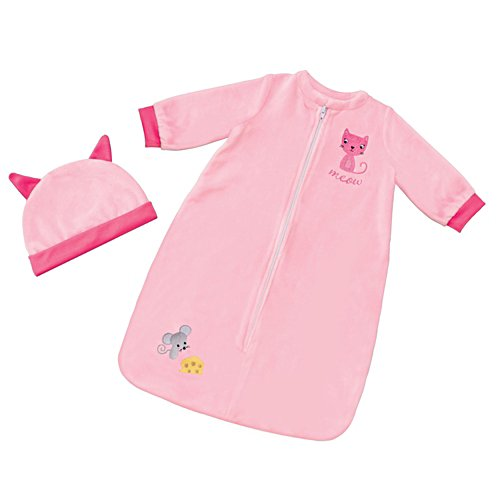 'Cat & Mouse' Sleep Sack Baby Doll Accessory