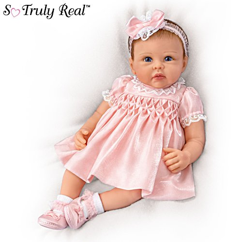 'All Dolled Up Olivia' Lifelike Silicone TrueTouch® Baby Girl Doll
