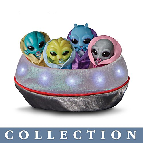 'Out-Of-This-World' TrueTouch® Silicone Alien Baby Doll Collection