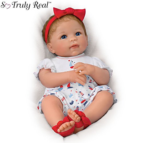 'Little Saylor' So Truly Real® Baby Girl Doll