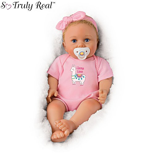'Llama Love' So Truly Real® Baby Girl Doll