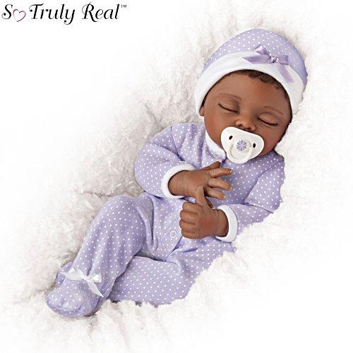 'Amara' Linda Murray Poseable So Truly Real® Baby Girl