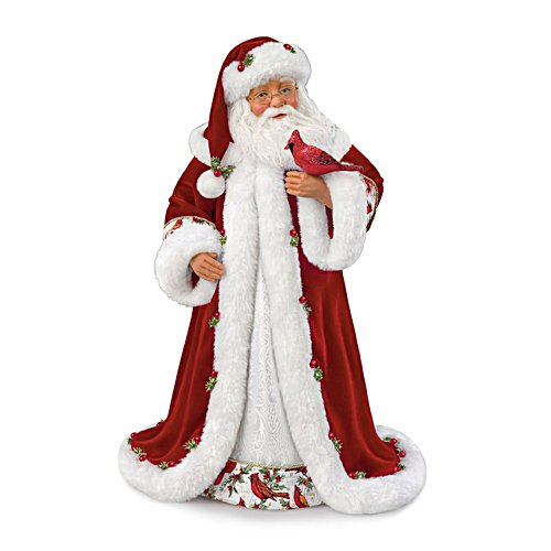 Karen Vander Logt 'Winter Blessings' Musical Santa Doll