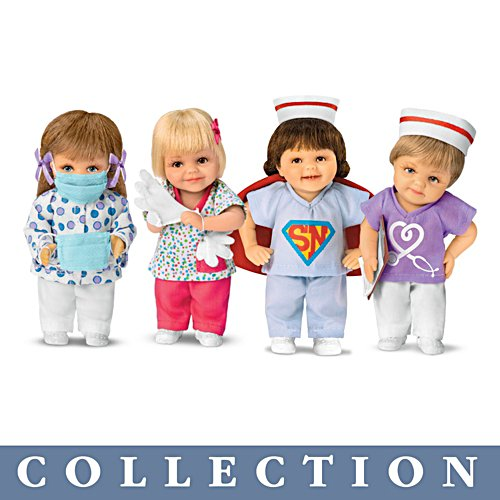 'Nurses: Frontline Heroes' Child Doll Collection