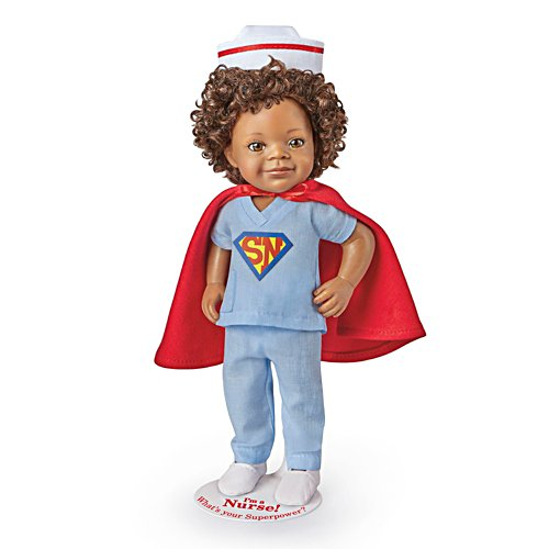 'I'm A Nurse! What's Your Superpower?' Child Doll