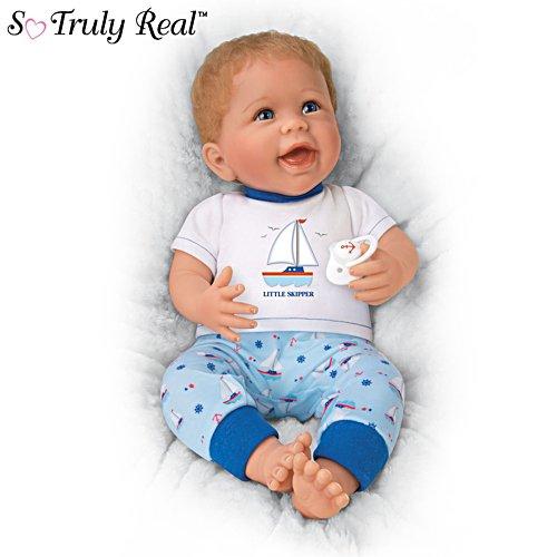 'Little Skipper' So Truly Real® Baby Boy Doll