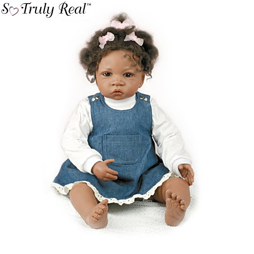 Waltraud Hanl 'Jasmine's At Age 1-1/2' Child Doll