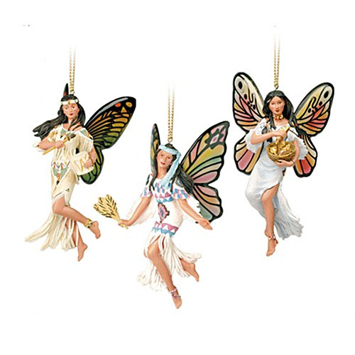 'Spirits Of The Butterfly' Ornament Set 2