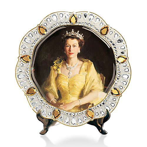 'Queen Elizabeth II Diamond Jubilee' Collector Plate