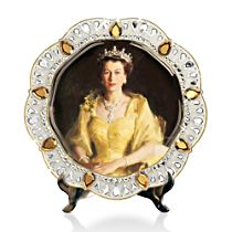 'Queen Elizabeth II Diamond Jubilee' Collector Plate