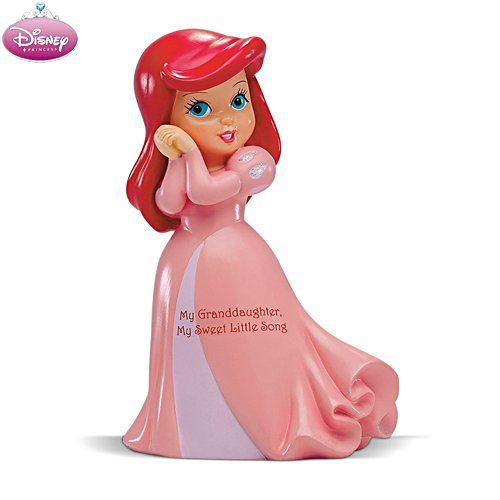 Disney 'My Granddaughter, My Sweet Little Song' Ariel Figurine