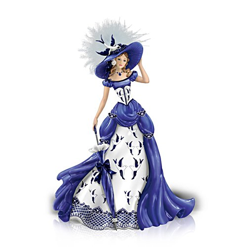 'Rowena' Blue Willow Pattern Figurine