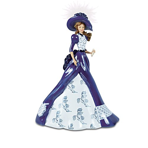 'Arabella' Blue Willow Pattern Figurine