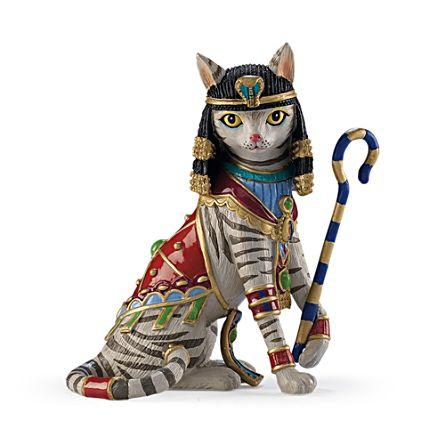 'Cleo-CAT-tra' Figurine