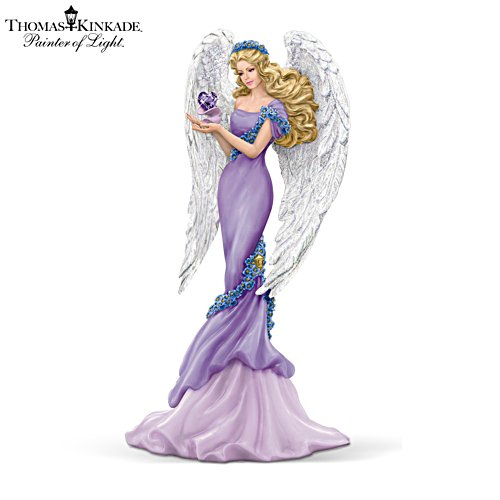 Thomas Kinkade 'Caring' Angel Figurine