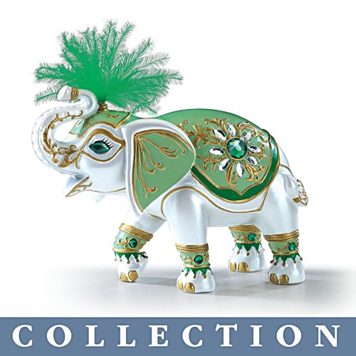 'Elephants Of Good Fortune' Figurine Collection