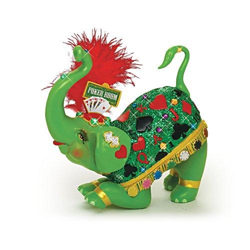 'Poker Princess' Elephant Figurine