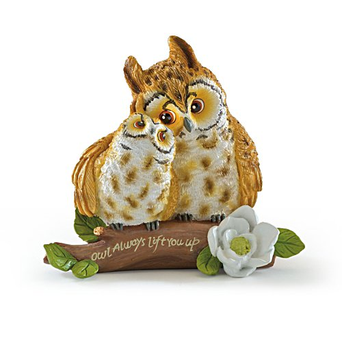 Kayomi Harai 'Owl Always Lift You Up' Figurine