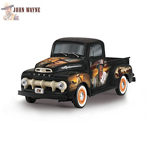 John Wayne 'The Duke' 1952 Ford F150 Truck Tribute Sculpture