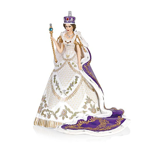'Coronation Of Queen Elizabeth II' Figurine