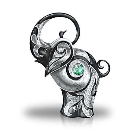 'Legendary Luck' Swarovski® Elephant Figurine