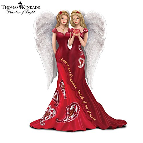 'Sisters Are Guardian Angels Of Our Hearts' Figurine