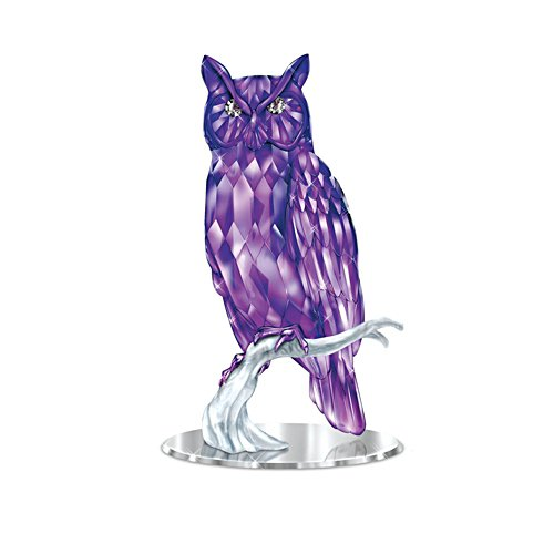 Blake Jensen 'Wisdom Of The Amethyst' Owl Figurine