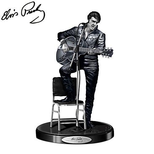 '68 Comeback - Elvis Presley Skulptur (Special Platinum Edition)